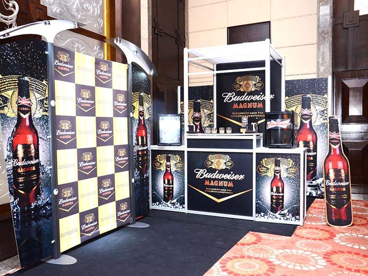 Events & Conference Display Solution for Budweiser. Contact us http://www.expodisplayservice.ae/contactus.asp