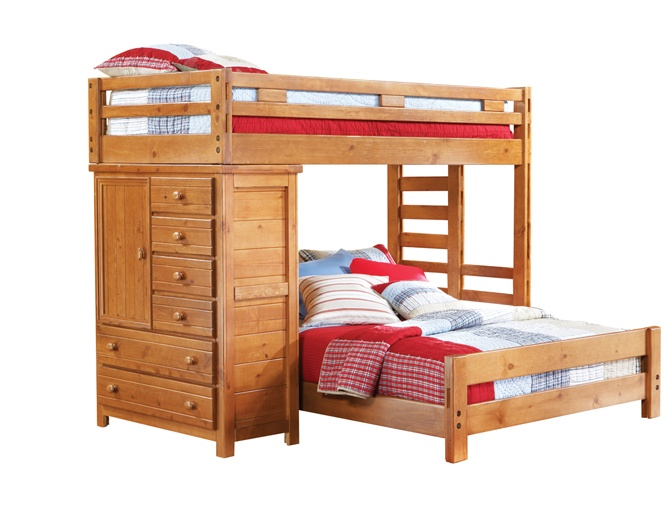 Bunk bed double single best home design 2018 Home furniture single bed