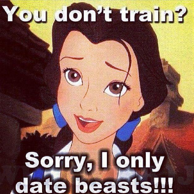 Gym dating meme