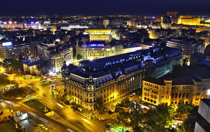 There is no place like home ! My beautiful and busy city ! Love it ! Bucharest,Romania