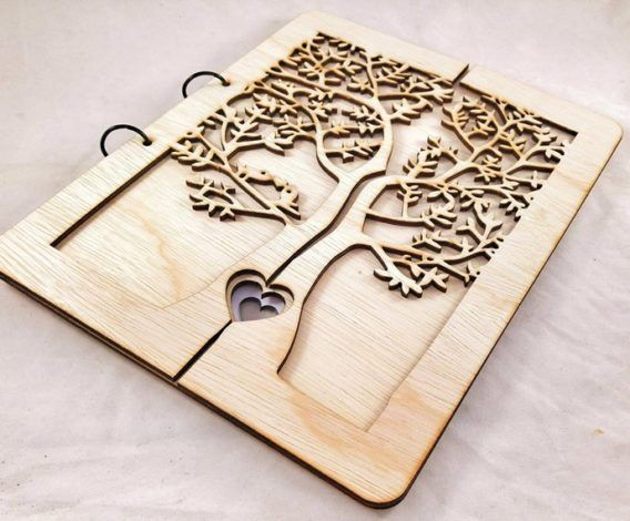 """""""the tree of life"""" guest book 01"""