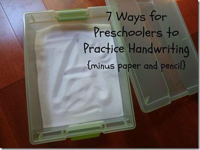 Creative ways to write a paper