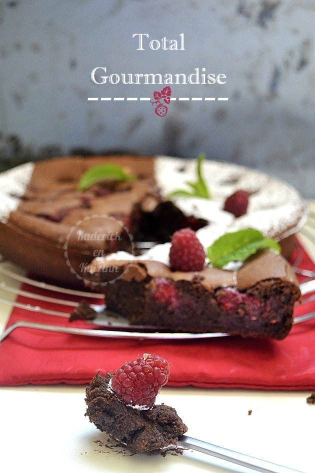 Fondant chocolat noir et framboises - recette du gâteau au chocolat gourmand