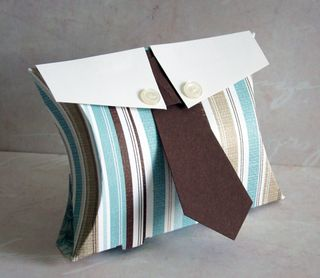 Masculine Pillow Box