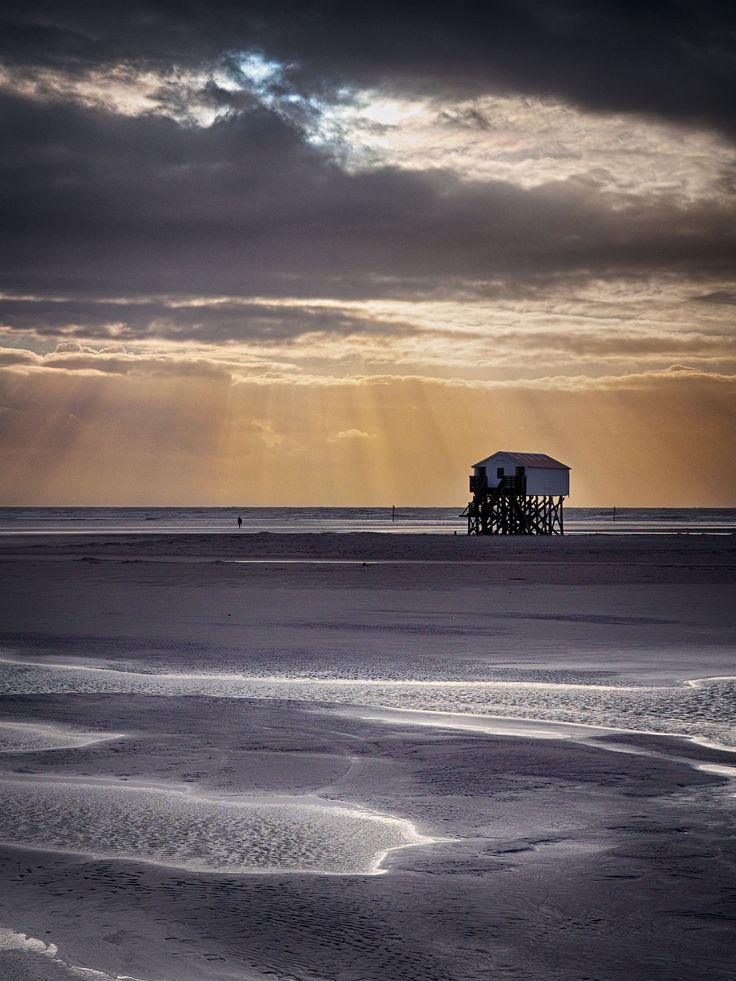 St. Peter-Ording at winter