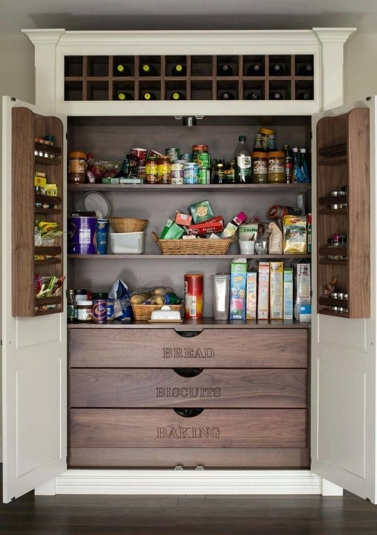 Pantry Storage Solutions Uk A Chefs Kitchen Organizers With Swing