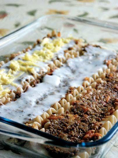 Kıymalı sebzeli lazanya Tarifi - Dünya Mutfağı Yemekleri - Yemek Tarifleri