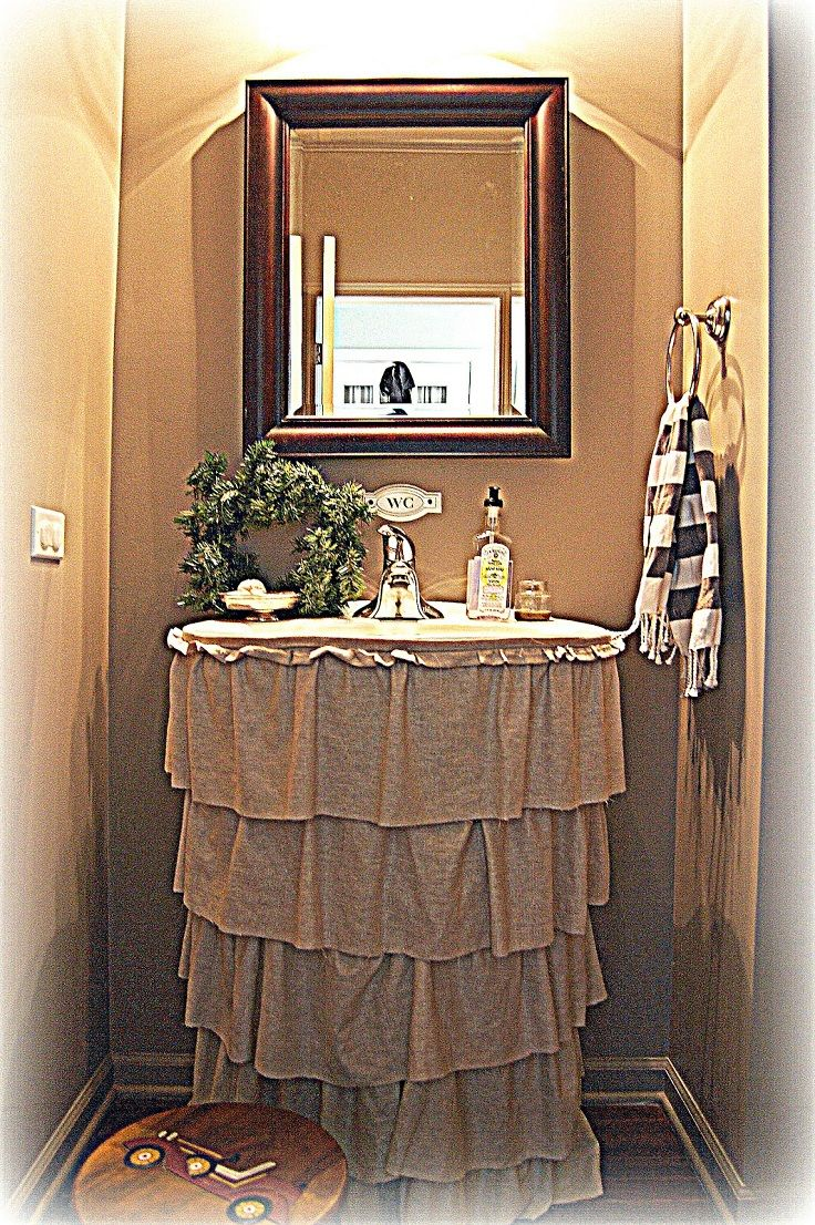 Top 10 Easy DIY Sink Skirts  middot  Diy Sink SkirtBathroom. 17 Best ideas about Bathroom Sink Skirt on Pinterest   Sink skirt