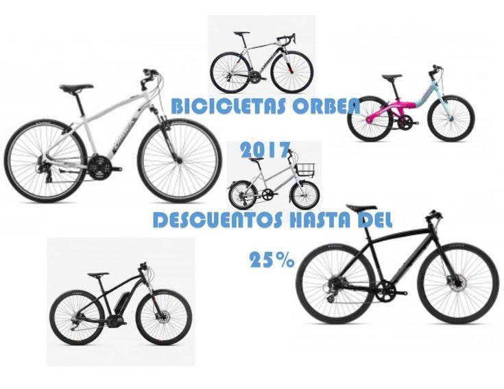 Ofertas Bicicletas Orbea 2017 con descuentos de hasta el 25%