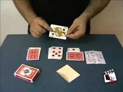 How to do wizards choice card trick | Dynamo card trick revealed