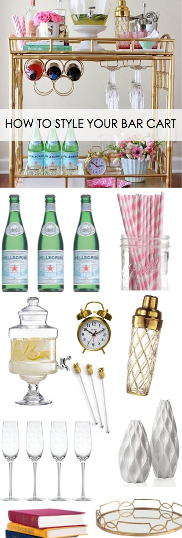 How to Style Your Bar Cart! http://www.ebay.com/gds/How-to-Style-Your-Bar-Cart-/10000000205145587/g.html?roken2=ti.pQ3Jpc3N5IEFycGllIE90dA==