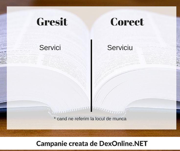 Salvam limba romana impreuna! #salveazalimbaromana #dex #gramatica http://dexonline.net/