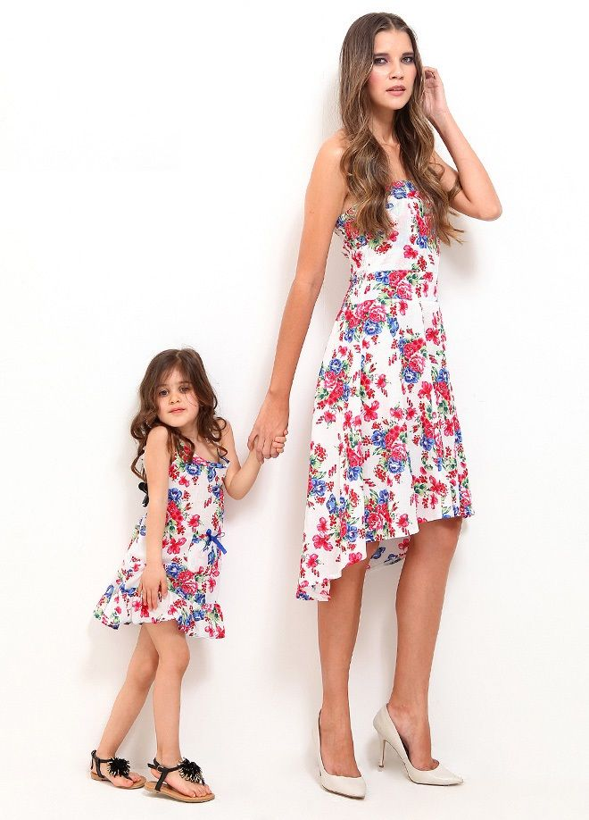 Moda: Anneler ve Kızları Elbise Markafoni'de 89,99 TL yerine 29,99 TL! Satın almak için: http://www.markafoni.com/product/4402704/