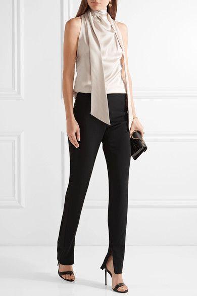 Look! Черные брюки! 4
