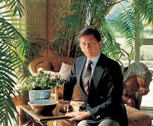 "Valentino Clemente Ludovico Garavani -- fashion designer and founder of the Valentino SpA brand and company.  "" Valentino is can completely present women's grace. """