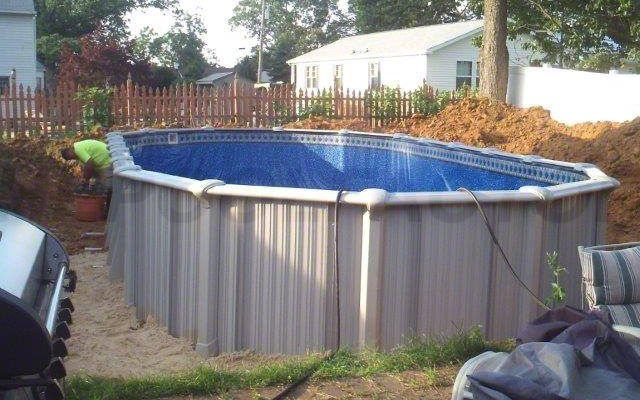 1000 images about above ground pool installation on pinterest for Above ground pool installation