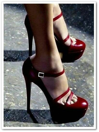 Like but not too sure of the toes showing wish they were more covered. Love the sexy straps.