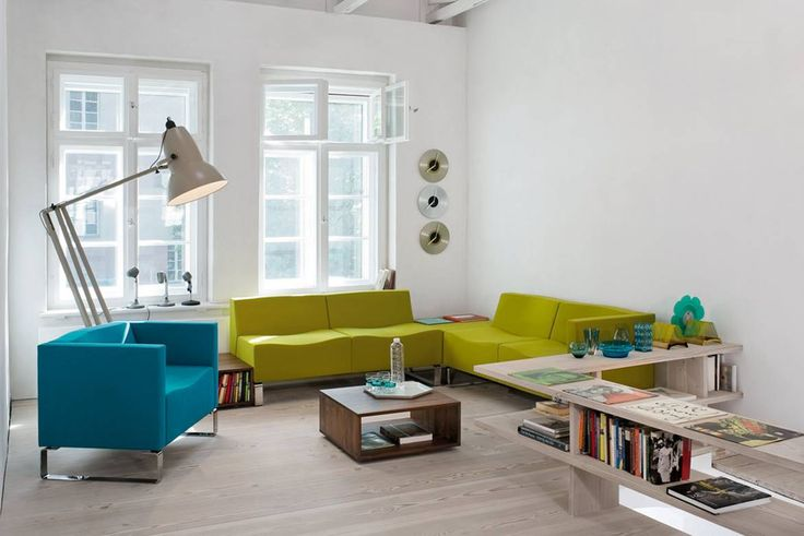 Kloeber CONCEPT C SOFA - featuring an Anglepoise Giant1227 lamp http://www.kloeber.com/gb-en/new-products-latest-news/concept-c/