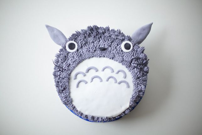totoro cake tutorial by coco cake land by Coco Cake Land
