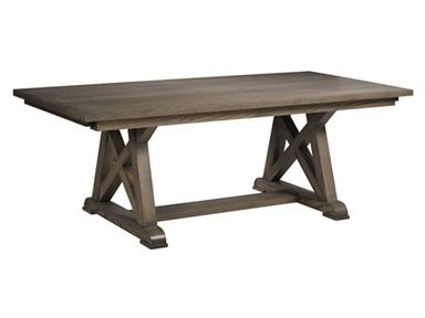 Shop For Valley View Oak Arvada Table And Other Dining Room Tables At Hickory Furniture Mart In NC Available Sizes 42 Inches