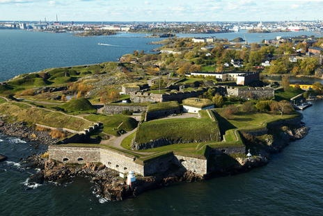 Fortress of Suomenlinna--Helsinki, Finland--- UNESCO World Heritage Site---August 2012