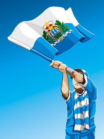 Image result for san marino SOCCER SUPPORTERS