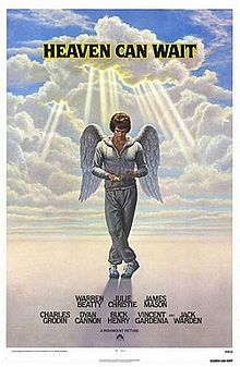 Heaven Can Wait is a 1978 American comedy film directed by Warren Beatty and Buck Henry. It is the second film adaptation of Harry Segall's stageplay of the same name, preceded by Here Comes Mr. Jordan (1941) and followed by Down to Earth (2001). Beatty stars in the lead role, playing a football player who, after being killed in a collision accident, is sent back to earth in the body of a millionaire.