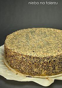 Biszkopt makowy-ciasto balowe. Ciasto jest delikatne i lekkie, proste w… na Stylowi.pl