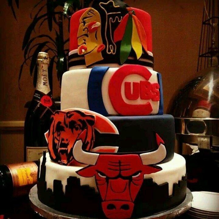 Birthday Cake For Cheerleaders