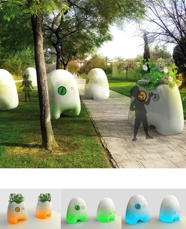 Robotic Recycling Bins Recycly is the