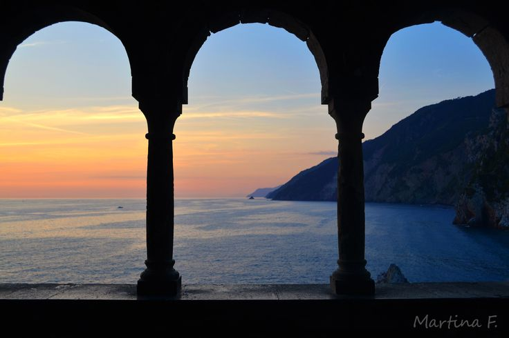 #sunset #sea #Portovenere #Duomo #Liguria #shadow #lights #Italy