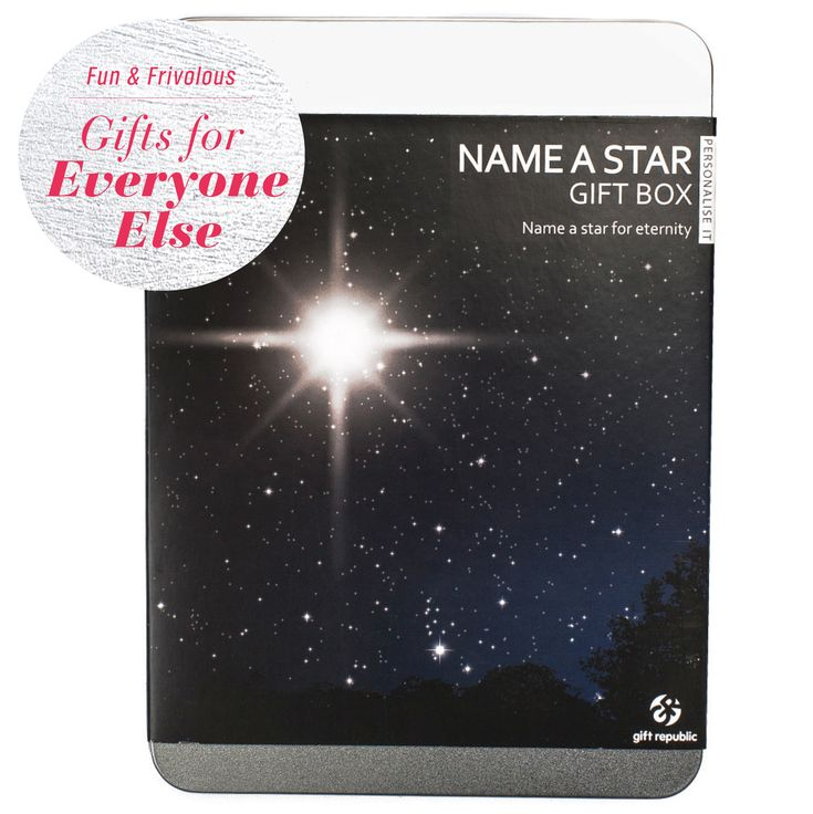 The 'Name a Star' Gift Box set is perfect for that astrology lover on your list! #Coles