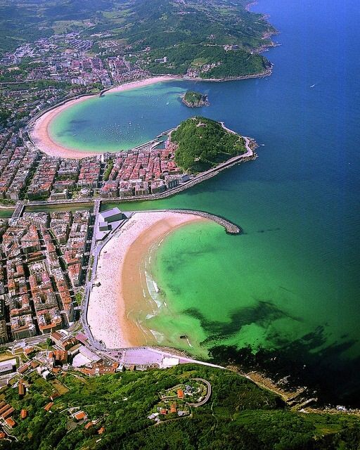 ¡¡¡¡¡¡¡¡. Que preciosidad......!!!!!!,Playas:La Zurriola,La Concha y Ondarreta.....