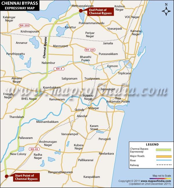 Chennai North Zone - Google My Maps