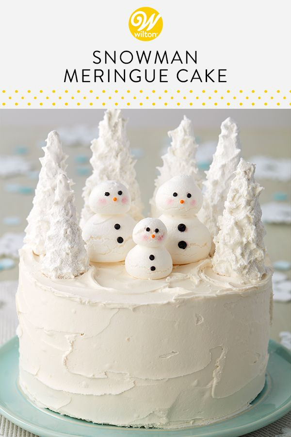 Snowman Cake Recipe Recipe Snowman Cake Winter Cake Christmas Cake Designs