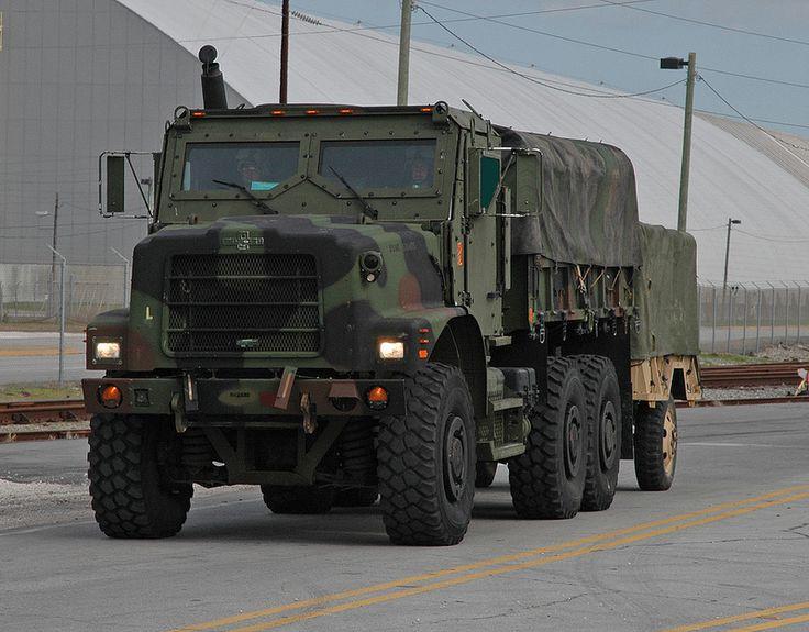 73 Besten Avengers Bilder Auf Pinterest: Marine Corps AMK23 Cargo Truck With M105A2 Cargo Trailer