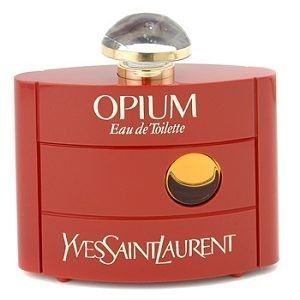 OPIUM Perfume. EVERYONE smelled of this!
