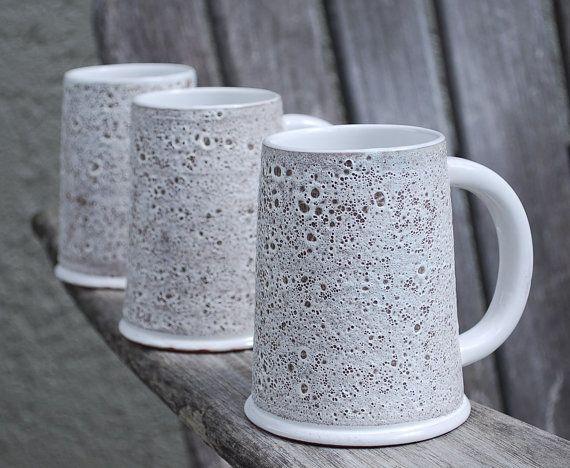 Vintage Mid Century Modern Mugs Handmade in Norway