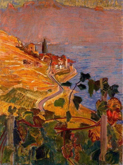 by Ernest Bieler (1863-1948, Switzerland)