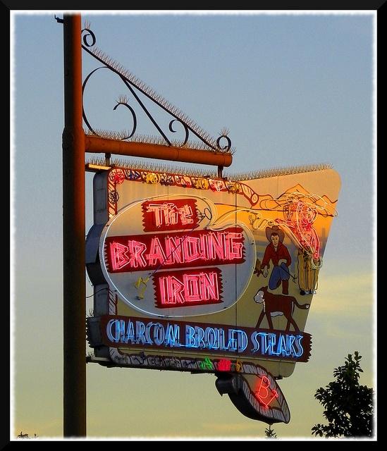 Branding Iron Restaurant in Merced, California