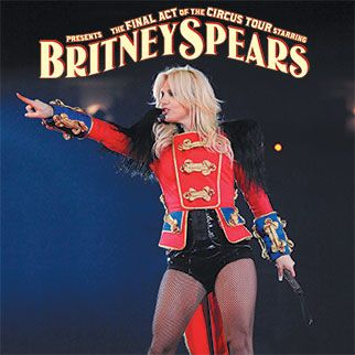 The Circus Starring Britney Spears: Opened in March 2009 and grossed $131.8 million.  The first leg of the tour was completely sold out!