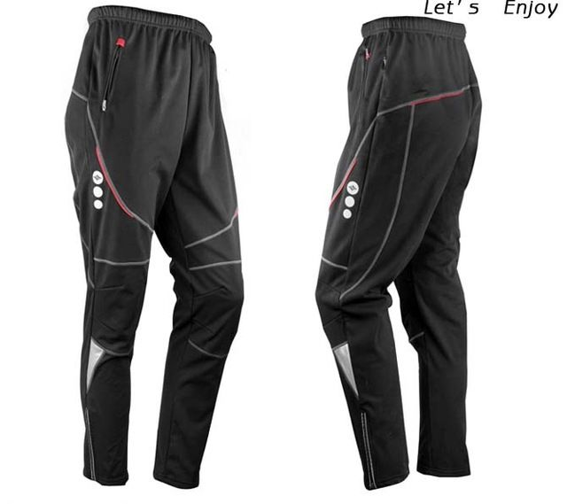 Daily Offers $26.99, Buy New Men' Thermal Winter Cycling Waterproof Pants Bike/Bicycle Sports Outdoor Windproof Trousers C4004