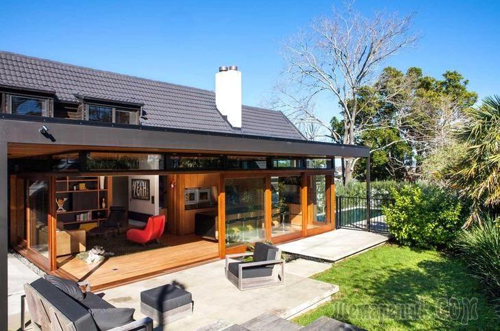 Реконструкция дома в Новой Зеландии
