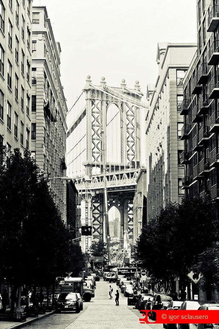 bridge on the brook  © Igor Sclausero #manhattan #newyork