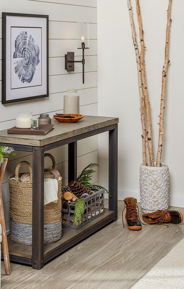 Entryway Furniture Decor Ideas Overstock Com Decor Rustic