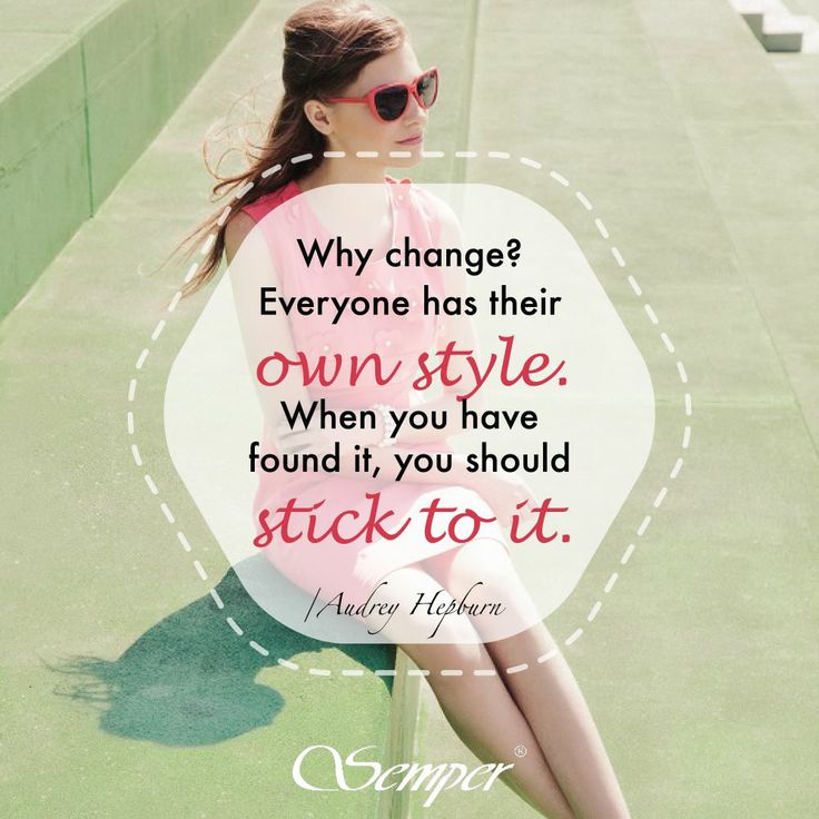A jak to jest z Wami, drogie Panie? Zawsze trzymacie się swojego stylu, czy też lubicie go często zmieniać i eksperymentować z modą? #quotes #fashionquotes #cytat #inspiracje #inspirations #fashioninspirations #semper #semperfashion #kobietasemper #style #stylish #wlasnystyl #stylizacje #stylish #spring #wiosna #woman #polishgirl