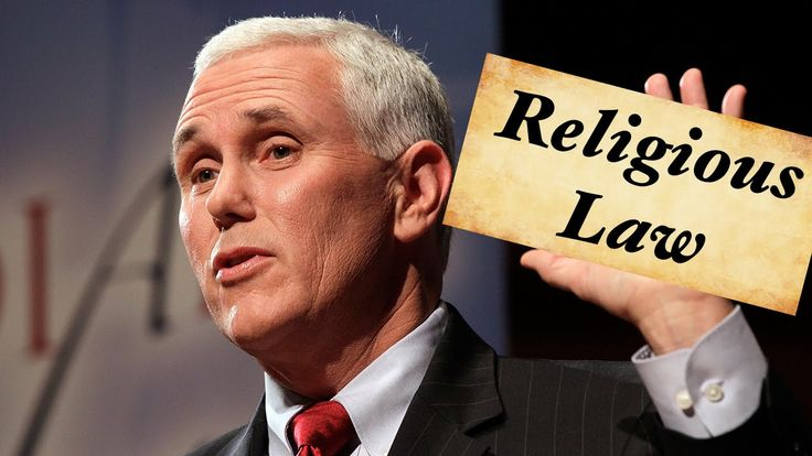 Indiana Governor Mike Pence Defends Discriminating Religious Freedom Law - Horrid Governor! !