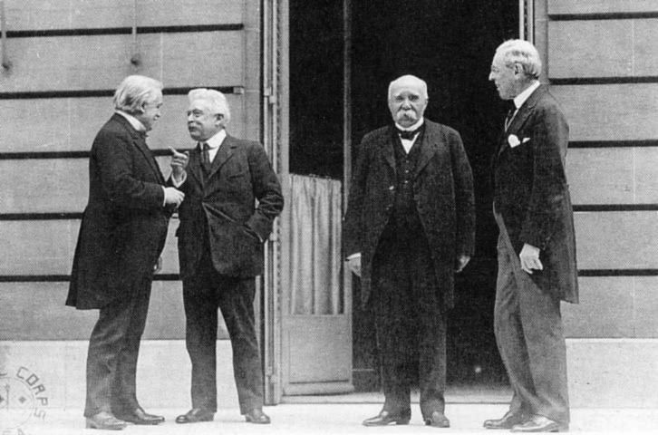 the big four of the treaty of versailles World war i officially came to an end with the signing of the treaty of versailles on june 28, 1919 32 countries had come together in paris in january 1919.