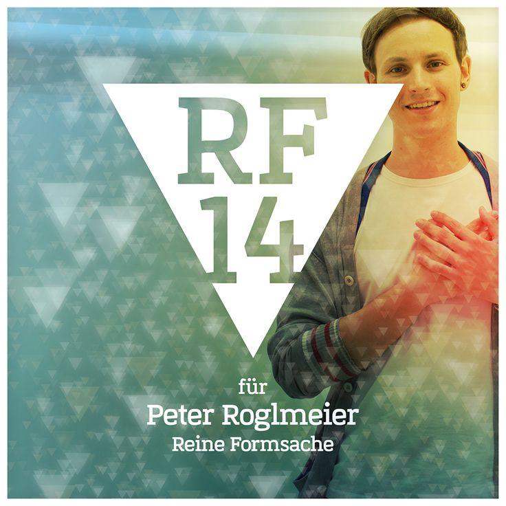 We are Reine Formsache 14! // Peter Roglmeier // Der Peter, der macht auch hier mit. Und wirft den Funk an die Wand. Hip-Hop auf Bildern sozusagen. Graffiti-Style mit coolen Formen und Farben. Die Werke sind jedenfalls gigantisch. So wie der legendäre Futurama-Bender-Marienfigur-Mix. Wer mehr von Peters Digital-Print-Breakdances sehen will, kommt einfach vorbei. Es lohnt sich. // #RF14 #ausstellung #digital #kunst #regensburg