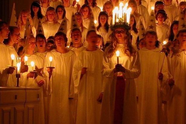 Fête de Sainte-Lucie en Suède - Photo Claudia Gründer DR